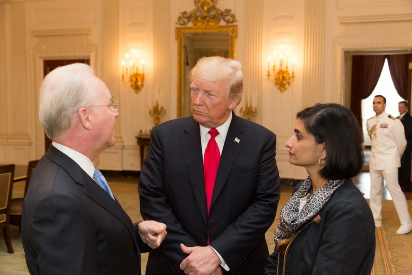 President Trump Meets With Families Adversely Affected by Obamacare