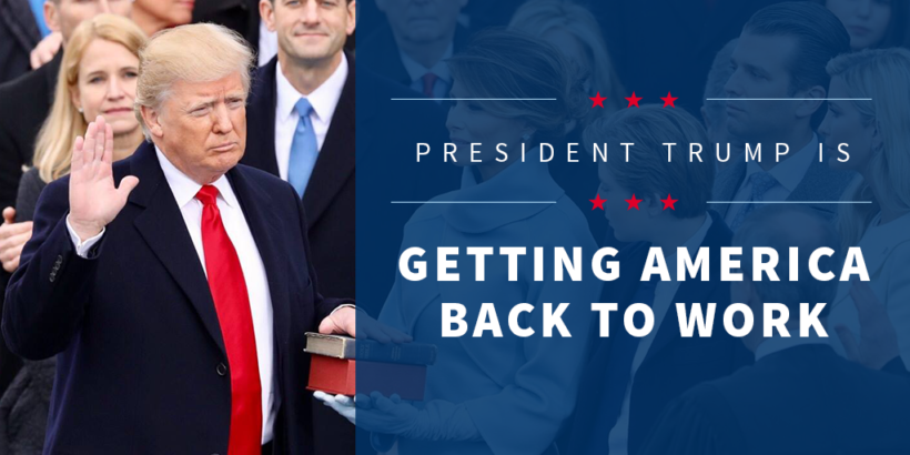 President Trump is getting Americans back to work