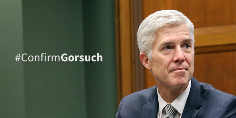 Neil Gorsuch, nominee to the Supreme Court