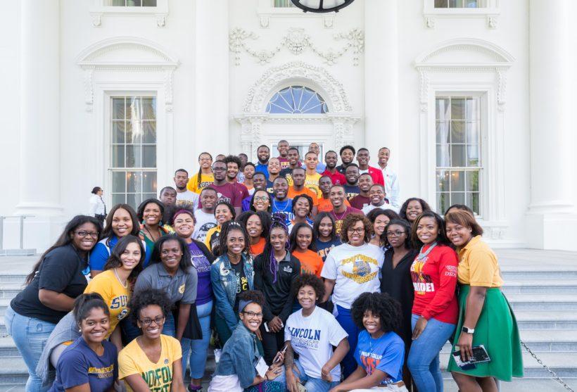 HBCU representatives visit the White House