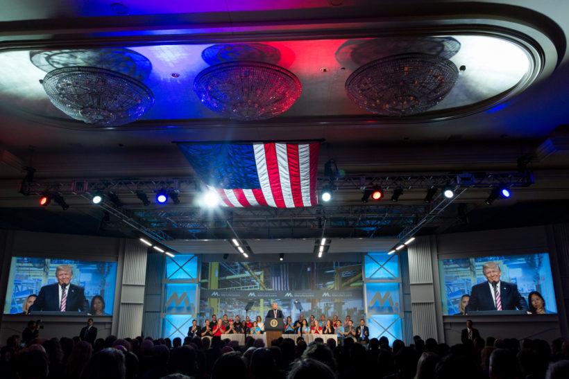 POTUS gives remarks at National Association of Manufacturers