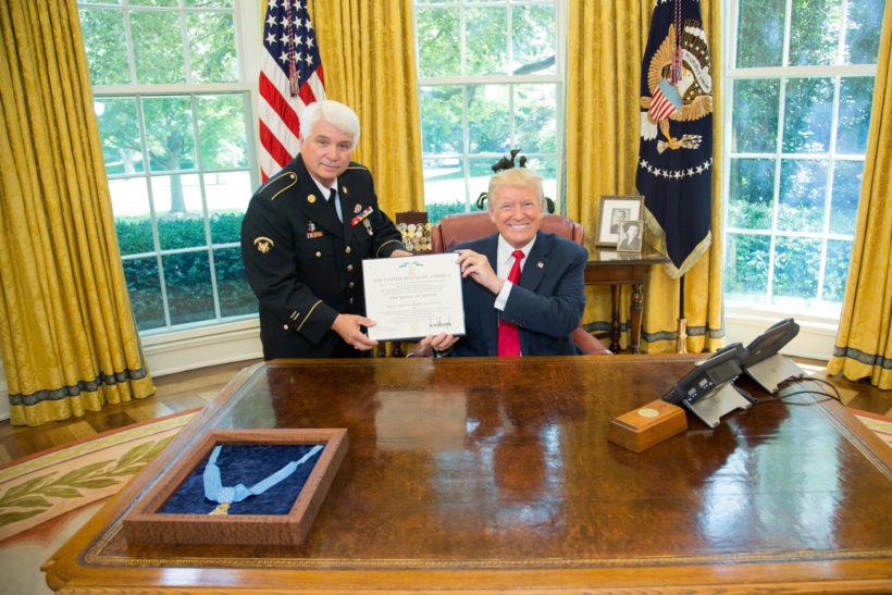 President Trump presents Medal of Honor