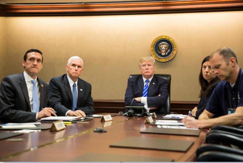 President Donald J. Trump's Briefing on Puerto Rico in the Situation Room