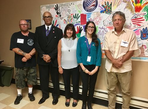 Second Lady Karen Pence's visit to New Directions for Veterans in Los Angeles, California
