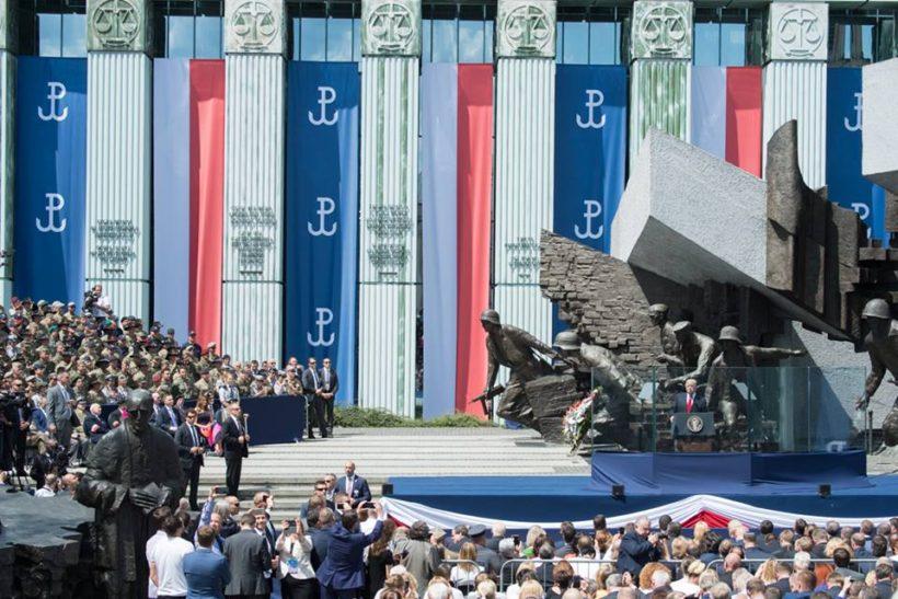 President Trump in Poland