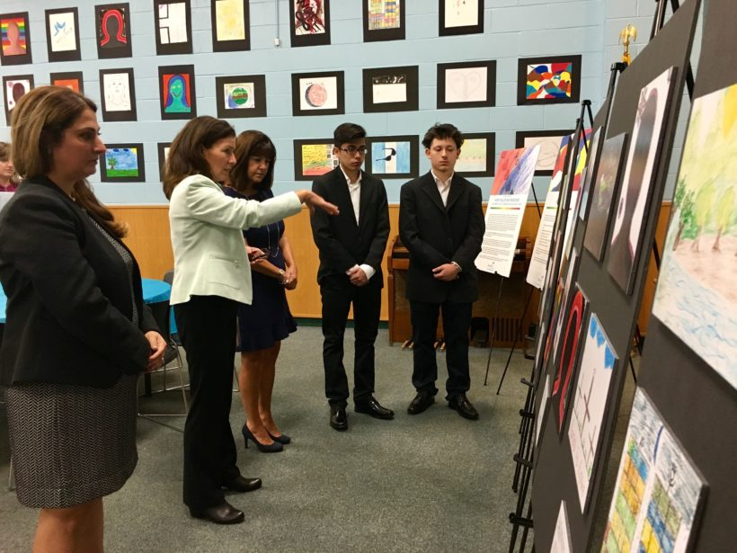 Second Lady Karen Pence's visit to MercyFirst in New York