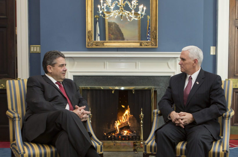 Vice President's Meeting with German Vice Chancellor and Minister of Foreign Affairs Sigmar Gabriel