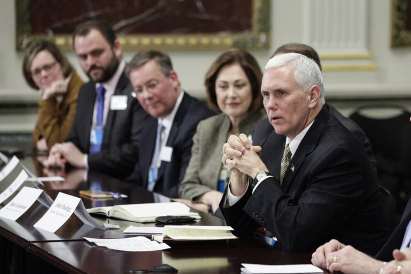 VP meets with conservative leaders