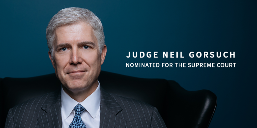 Judge Neil Gorsuch nominated for the Supreme Court