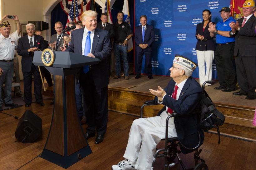 President Trump Salutes American Heroes in Ohio