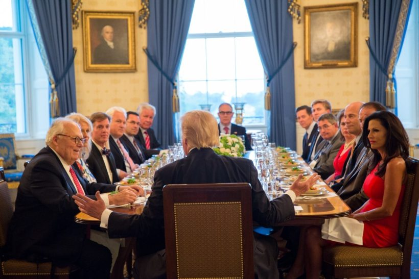 President Donald J. Trump's Dinner with Grassroots Leaders