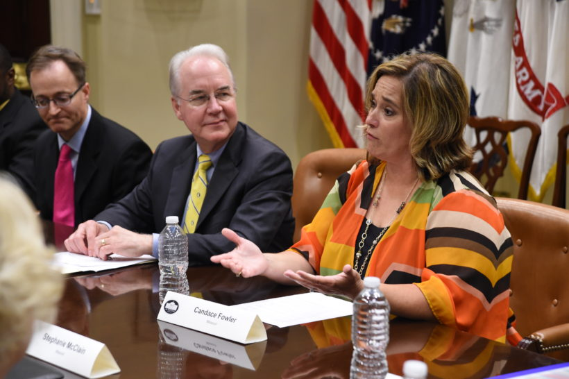 Secretary Price hosts listening session
