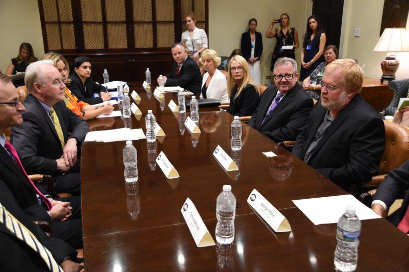 Secretary Price listens to Obamacare victims
