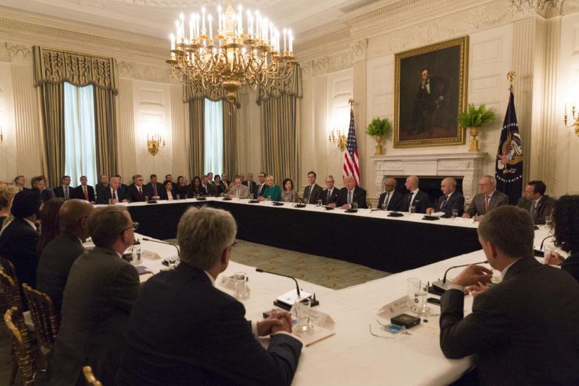 President Trump hosts tech summit