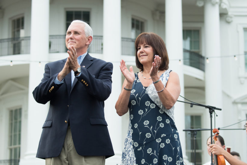 Vice President and Second Lady attend Congressional picnic